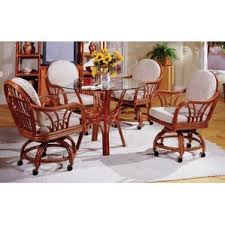wicker u0026 rattan kitchen u0026 dining tables you u0027ll love wayfair