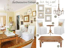 country chic living room get the look the distinctive cottage