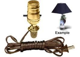 Wine Bottle Light Fixtures Amazon Com Cork Stopper Lamp Kit Turns A Keepsake Wine Bottle