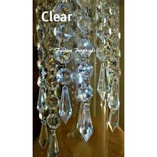 decorations sale sale sale 100 hanging crystals acrylic chandelier prism wedding