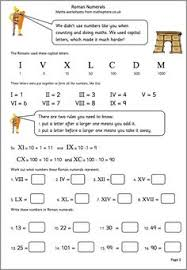 roman numerals math with popsicle sticks ancient rome