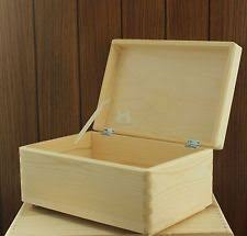 wooden keepsake box ebay