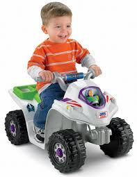 toddler battery car power wheels disney pixar toy story 3 lil u0027 quad go to infinity and