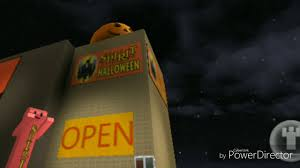 the spirit halloween store my spirit halloween 2017 store in roblox youtube