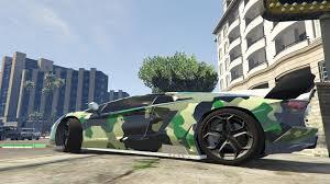 Lamborghini Aventador Camouflage Paintjob Pack Gta5 Mods Com