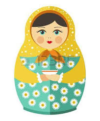 660 russian nesting doll cliparts stock vector and royalty free