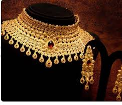 neck necklace gold images Designer necklace set moti work necklace retailer from thane png