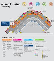seattle airport terminal map 2017 travel information combine