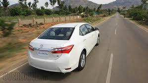 toyota corolla 2014 altis 2014 toyota corolla altis india drive overdrive