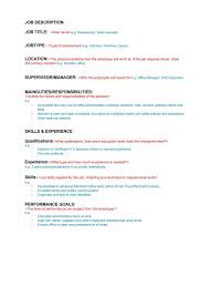 47 job description templates u0026 examples template lab
