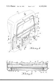 patent us4119341 rear window assembly for a truck cab google