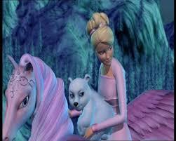 kids cartoons barbie magic pegasus movies