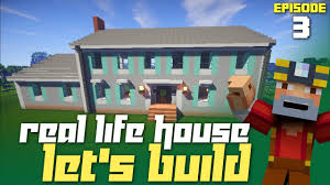 minecraft let u0027s build my real life house part 3 garage