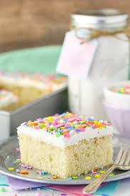 homemade vanilla cake mix life love and sugar