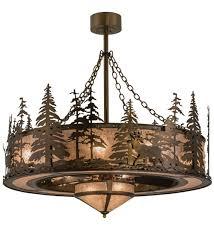 vintage copper ceiling light meyda tiffany 163305 elk at dusk antique copper silver mica ceiling