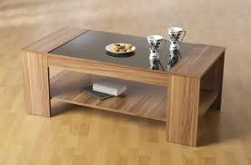 small unique coffee tables brown rectangle modern wood and glass top unusual coffee tables with