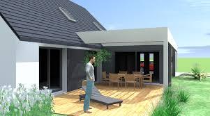 photos d extension de maison agrandissement maison bois toit incliné recherche google