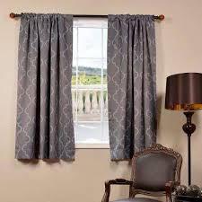 Seville Curtains Gray Rod Pocket Curtains Drapes Window Treatments The