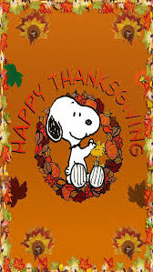 snoopys thanksgiving fall thanksgiving wallpapers