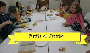 battle of jericho lesson and craft growing kids ministry