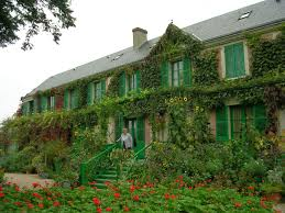 the monet family in their garden at argenteuil art in itself the home of claude monet giverny normandy france