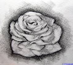 how to sketch a rose step by step sketch drawing technique