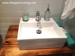 Diy Vanity Top Adorable Creative Of Diy Vanity Top Remodelaholic Diy Bathroom