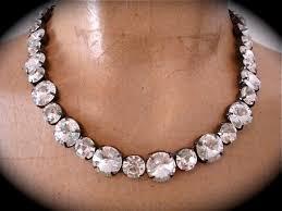 bridal necklace images Crystal rivoli bridal necklace the crystal rose bridal jewelry JPG