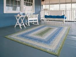 cottage area rug floor rugs the beach house area rug hand painted