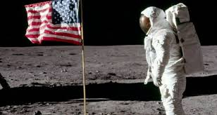 the flags we left on the moon all turned white