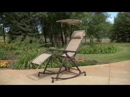Bliss Zero Gravity Lounge Chair Zero Gravity Rocker Youtube