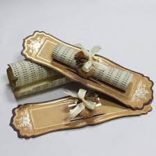 Scroll Invitation Rods Different Types Of Scroll Wedding Invitations Are Available For