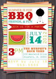 family summer party invitation