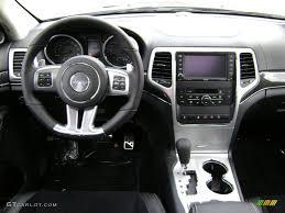 jeep grand cherokee dashboard 2012 jeep grand cherokee srt8 4x4 srt black dashboard photo