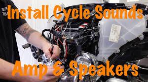 Harley Davidson Patio Lights by Install Cycle Sounds Amp U0026 Speaker Kit On Harley Davidson Touring