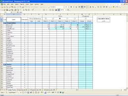 Excel Spreadsheet Example Inventory Control Template With Count Sheet 1 Inventory