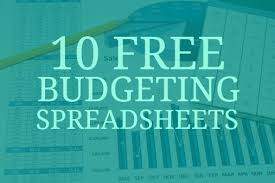 How To A Household Budget Spreadsheet 10 Free Household Budget Spreadsheets For 2017