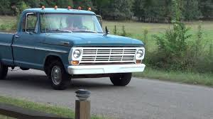 ford truck blue 1968 ford truck blue driving 2 youtube
