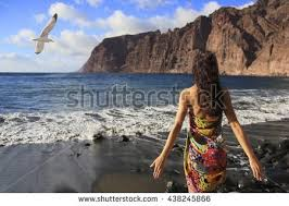 tenerife black sand beach stock images royalty free images
