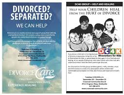 divorce care for adults and or kids shelbyvilletoday