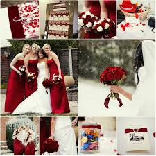 wedding red winter dress in 2016 2017 gossip style