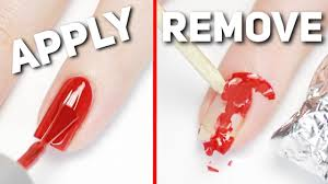 apply u0026 remove gel polish perfectly at home youtube