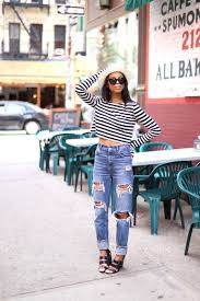Destroyed High Waisted Jeans High Waisted Distressed Boyfriend Jeans Jeans To