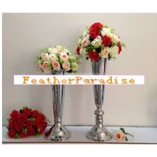 Eiffel Tower Vases 24 Inch Eiffel Tower Vases Metal Trumpet Vases Centerpieces Floral Riser