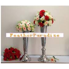 eiffel tower vases metal trumpet vases centerpieces floral riser