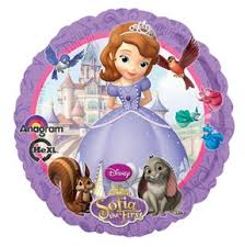 Sofia Decorations Sofia The First 1st Happy Birthday Party Balloons Decorations