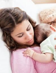 study baby sleeps best on s chest