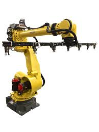 what are the main parts of an industrial robot