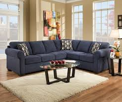 Blue Table L Coffee Table L Shape Blue Suede Sectional Sofa With Track