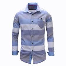 men u0027s shirt striped long sleeve plaid shirts mens dress shirt